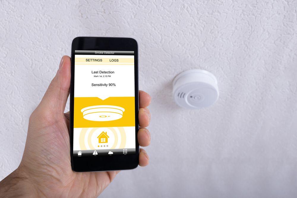 smart home rauchmelder intelligente fr herkennung f r ihr zuhause. Black Bedroom Furniture Sets. Home Design Ideas