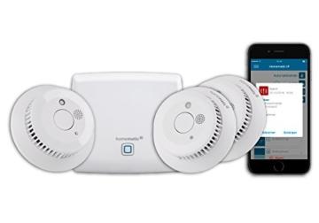 homematic ip smart home starter set rauchwarnmelder. Black Bedroom Furniture Sets. Home Design Ideas